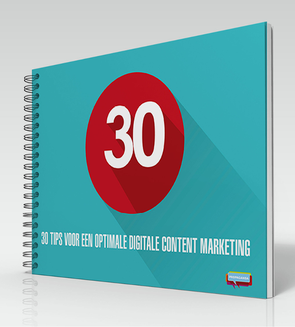 Publicatie: 30 tips voor optimale digitale content marketing